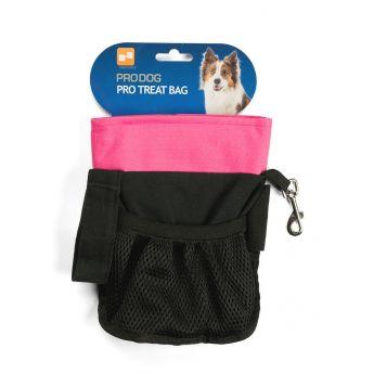 Pro Dog Treat makupalapussi saranalla (Pinkki)