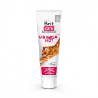 Brit Care Cat Tahna Anti Hairball ja Tauriini 100 g