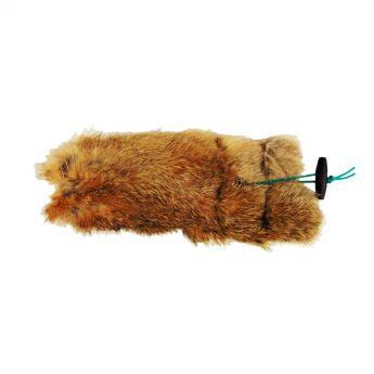 Pro Dog Rabbit Dummy 450 g (Ruskea)