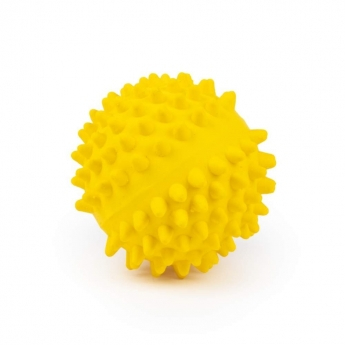Little&Bigger Latex Hedgehog Ball Yellow 9 cm