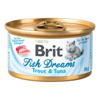 Brit Fish Dreams taimen & tonnikala 80 g
