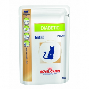 Royal Canin Veterinary Diet Cat Diabetic wet 12 x 100 g
