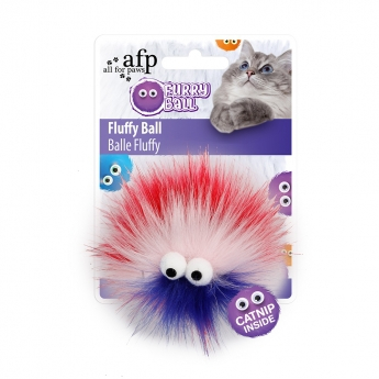 All For Paws Fluffy Karvapallo Pinkki