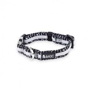 Basic Knit heijastava panta musta