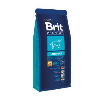 Brit Premium Lamb & Rice