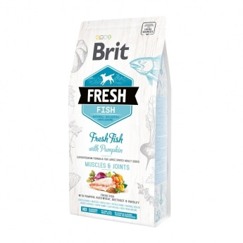 Brit Fresh Fish&Pumpk. Adult Large (2,5 kg)