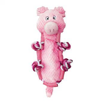 KONG Barnyard Knots Possu (Pinkki)