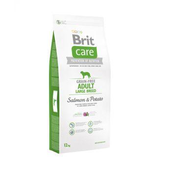 Brit Care Grain-Free Adult Large Breed Salmon & Potato**