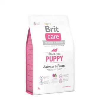 Brit Care Grain-Free Puppy Salmon & Potato (3 kg)