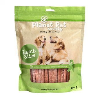 Planet Pet Society Lammassuikaleet 400g