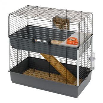 Ferplast Rabbit 100 kaksikerroksinen häkki (99 x 51,5 x 97,5 cm)