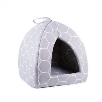 Little&Bigger Honeycomb iglu harmaa