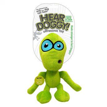 Hear Doggy Alien lime pieni
