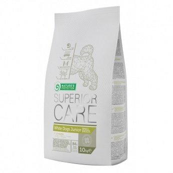 Nature´s Protection Superior Care White Dog Junior SB (10 kg)