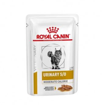 Royal Canin Veterinary Urinary Moderate Cal Cat wet 12x85g
