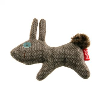 GiGwi Catch & Scratch jänis (Monivärinen)**