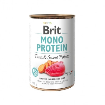 Brit Care Mono Protein Tuna & Sweet Potato 400g