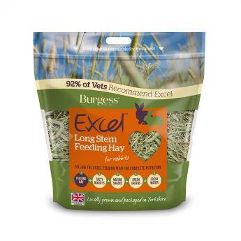 Burgess Excel pitkäkortinen ruokaheinä (1 kg)