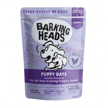 Barking Heads Puppy Days 300 g**