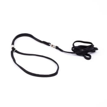 Show Dog Näyttelytalutin pyöreä, musta (5 mm)