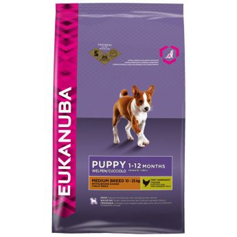 Eukanuba Puppy Medium Breed Chicken**