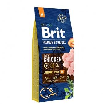 Brit Premium by Nature Junior M 15kg