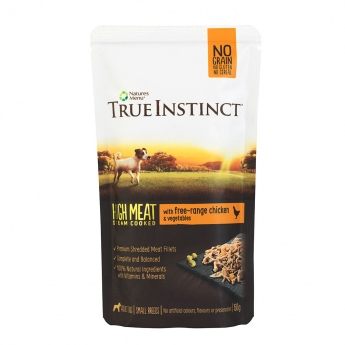 TrueInstinct Dog kana 150 g
