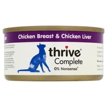 Thrive Adult kana ja kananmaksa (75 grammaa)