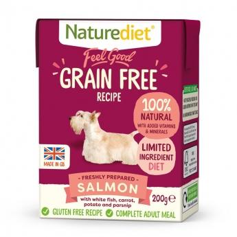 Naturediet Grain Free lohi (200 g)