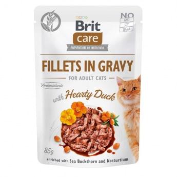Brit Care Cat Gravy ankkafilee kastikkeessa 85 g