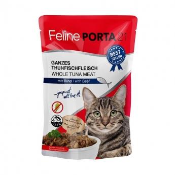 Feline Porta 21 tonnikala-nauta (100 g)