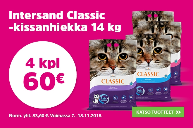 Intersand Classic 4kpl 60€