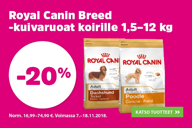 Royal Canin Breed kuivaruoka