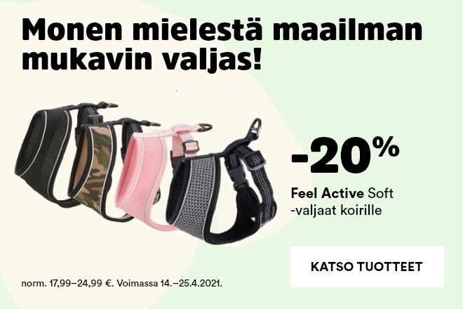 Feel Active Soft -valjaat -20%