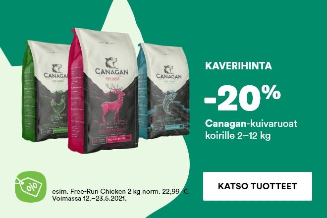 Canagan-koiranruoka -20%
