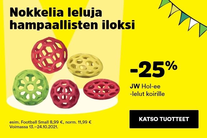 JW Hol-ee aktivointilelut -25 %