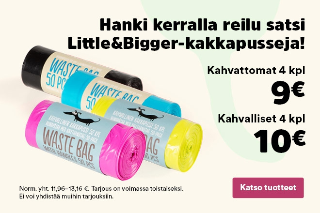 Little&Bigger -kakkapussit määräalennus