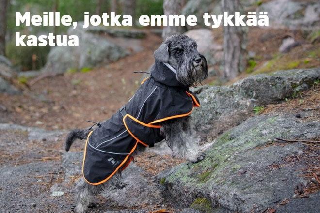 Koiran sadevaatteet