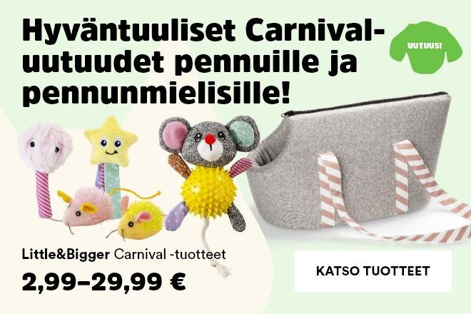 Little&Bigger Carnival koiranpennun lelut ja tarvikkeet