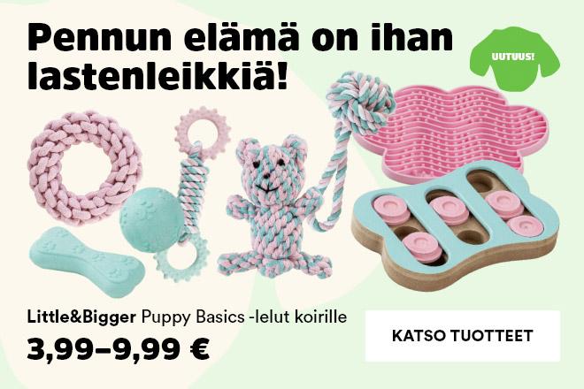 Little&Bigger Puppy Basics -tuotteet