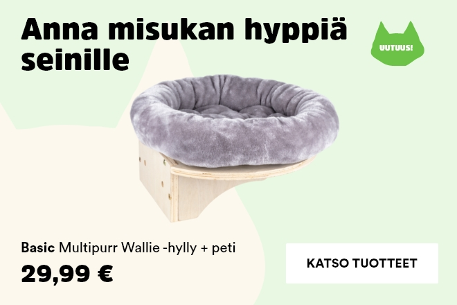 Basic Multipurr Wallie hylly+peti