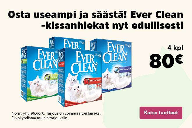 Ever Clean -määräalennus