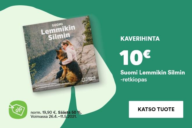 Suomi Lemmikin Silmin -retkiopas 10€