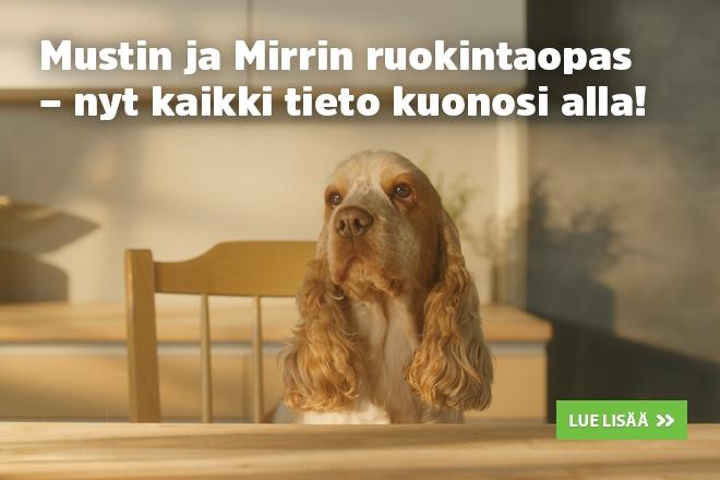 koiran painonhallinta