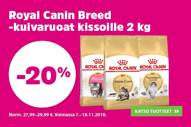 Royal Canin breed 2kg kissoille