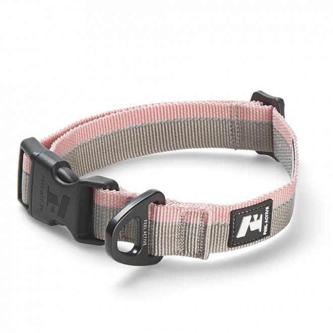 Feel Active Stripe panta harmaa/rosa