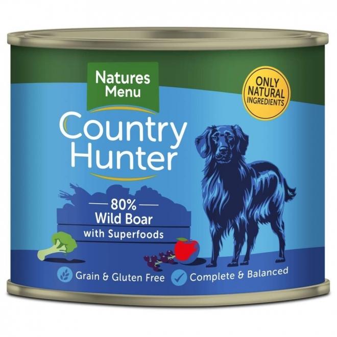 Natures:menu Country Hunter Dog villisika 600 g