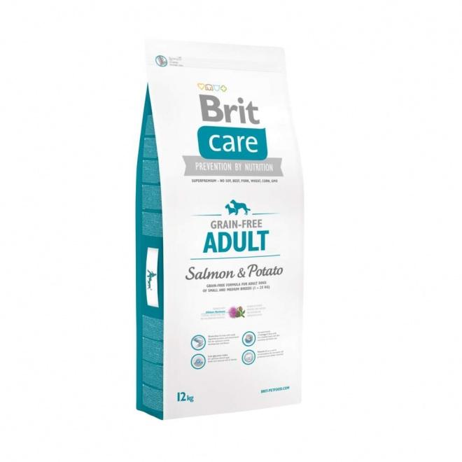 Brit Care Grain-Free Adult Salmon & Potato (12 kg)