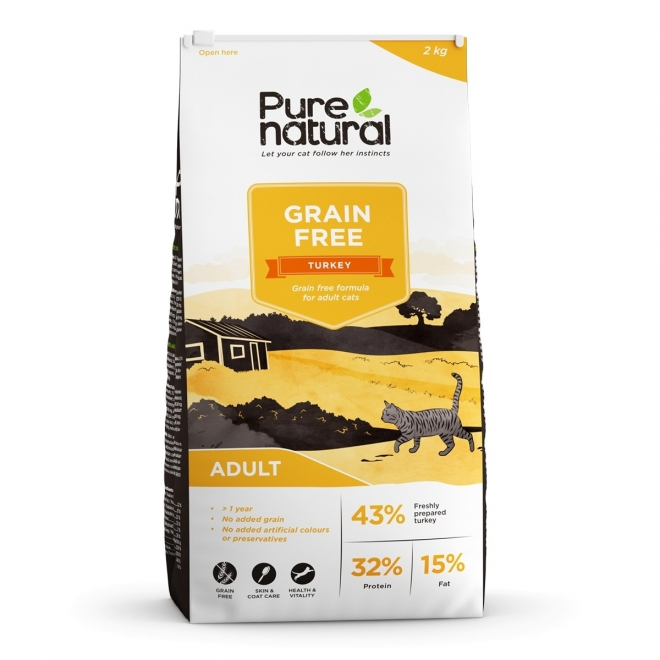 Purenatural Cat Adult Grain Free Turkey