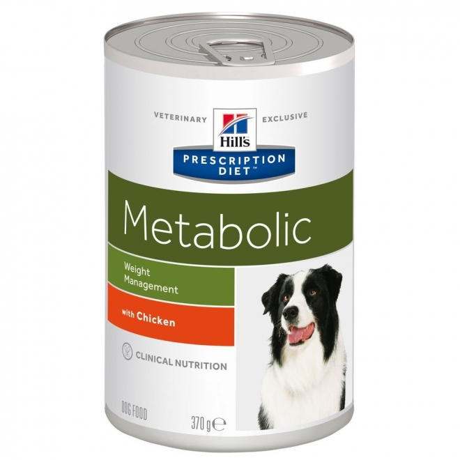 Hills Diet Dog Metabolic can 12x370g